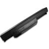 Asus K43SJ 6600 mAh 9 cella fekete notebook/laptop akku/akkumulátor utángyártott