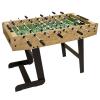 Asztali foci BELFAST 121 x 101 x 79 cm - világos fából