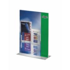 Asztali laptartó információs tábla, állvány