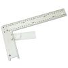 Asztalos derékszög, alumínium ; állítás:0-90fok 300mm (Asztalos derékszög)