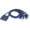 ATEN CS64US KVM Switch, 4PC, 4 USB, 4 AUDIO (CS64US)