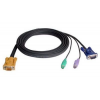 ATEN KVM Cable (HD15-SVGA  PS/2  PS/2) - 2m