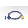 ATEN KVM Cable (HD15-SVGA  USB  USB) - 5m