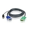 ATEN KVM kábel 2L-5201U (1,2m, USB)