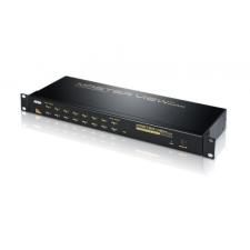 ATEN KVM Switch 16PC PS/2 OSD CS-1216A kábel és adapter