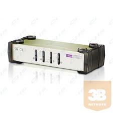ATEN KVM Switch 4PC USB+PS/2+kábel hub és switch