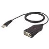 ATEN USB Soros Átalakító Fekete 15cm UC485-AT