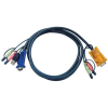 ATEN USB VGA KVM kábel 1.2m