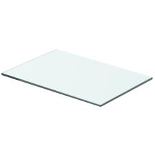 Átlátszó üvegpolc 40x20 cm fürdőszoba kiegészítő