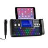 Auna auna DiscoFever bluetooth karaoke rendszer, LED 7'' TFT kijelző, CD, USB, fekete