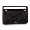 Auna Bebop Ghettoblaster, fekete, USB bluetooth AUX MIC