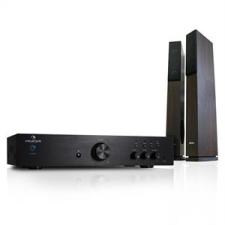 """Auna """"Elegance Tower Bluetooth"""", ezüst, 2.0 HiFi összeállítás, MP3-CD lejátszó + erősítő, 600 W erősítő"""
