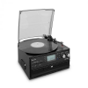 Auna Oakland, retro sztereó rendszer, FM, BT funkció, vinyl, CD, kazetta lejátszó, MP3