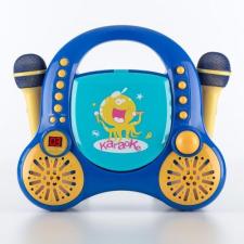 Auna Rockpocket, gyerek karaoke rendszer, CD, AUX, 2 x mikrofon, kék karaoké felszerelés