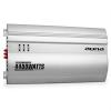 Auna Silverhammer 4-csatornás erősítő autóba, 4400 W, ezüst