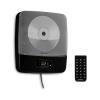 Auna Vertiplay, CD lejátszó, bluetooth, éjjeli lámpa, FM rádió, AUX, digitális óra, fekete