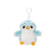 Aurora PomPom pingvin, kék táskadísz Aurora