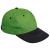 Australian Line stanmore baseball sapka, pamut, zöld és fekete