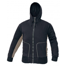 Australian Line stanmore pulóver kapucnival, barna, S