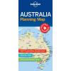 Ausztrália laminált térkép - Lonely Planet