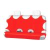 Autófejlesztés Trikóhuzat bolyhos pamut hátsó ülésre piros