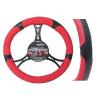 Automax Kormányvédő fekete+piros 37-39cm