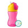 Avent Bájos itató pohár hajlékony szívószállal Avent 300 ml rózsaszin | Rózsaszín |
