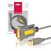 AXAGON ADS-1PS USB 2.0 - soros RS-232 DB9 aktív adapter (ADS-1PS)