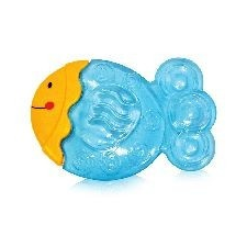 Baby Care Hűthető rágóka - Sárga fejű halacska rágóka