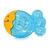 Baby Care Hűthető rágóka - Sárga fejű halacska