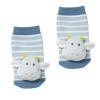 Baby Fehn Little Castle csörgő zoknik