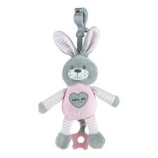 BABY MIX | Nem besorolt | Fejlesztő zenélő játék Baby Mix nyúl rózsaszín | Kék | plüssfigura