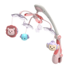 BABY MIX | Nem besorolt | Műanyag körhinta vetítővel Baby Mix szafari rózsaszín | Rózsaszín |