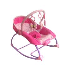 BABY MIX Pihenőszék babák számára 2in1 Baby Mix rózsaszín | Rózsaszín | pihenőszék, bébifotel