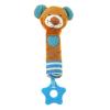 BABY MIX Sípolós plüss játék rágókával Baby Mix maci kék | A kép szerint |