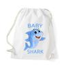 Baby Shark Pamut Tornazsák - baby shark cápa