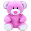 Baby TY: Princess maci plüssfigura - 15 cm, rózsaszín