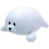 Baby TY: Tiny fóka plüssfigura - 15 cm, fehér