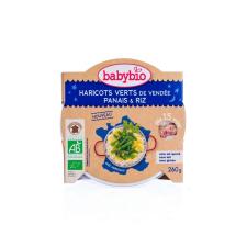 Babybio Babybio Jó éjszakát! - Bio zöldbabos-paszternákos finomság rizzsel 260 g bébiétel