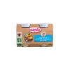 Babybio Bio tejszínes almás-kekszes püré 2 * 130 g