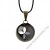 Babylonia Bola kismama lánc VK270 fekete gyöngy virág