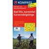 Bad Tölz - Isarwinkel - Karwendelgebirge kerékpártérkép - Kompass FK 3125
