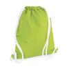 Bag Base Tornazsák tornatáska Hátizsák Bag Base Icon Gymsac - Egy méret, Lime zöld