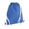 Bag Base Tornazsák tornatáska Hátizsák Bag Base Icon Gymsac - Egy méret, Zafírkék