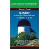Bakony / Bakonyalja / Balaton-felvidék térkép - Szarvas map