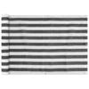 balkon napellenző HDPE 75x600 cm Antracit és fehér