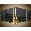 Balkys Trade Nyomtatott kép Eiffel-torony esti fényképe 140x80cm 1422A_7B