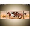 Balkys Trade Nyomtatott kép Gyönyörű lovak állománya 170x50cm 2062A_3G