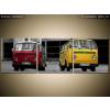 Balkys Trade Nyomtatott kép Old Volkswagen Transporter 90x30cm 1401A_3A