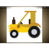 Balkys Trade Nyomtatott kép Traktor 4138A_1AI